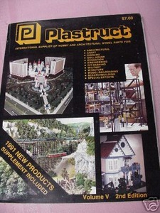 Plastruct 1990/1991 Volume V 2nd Edition Catalog