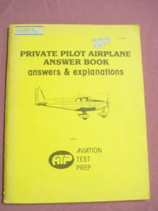 Private Pilot Airplane Answer Book ATP 1977