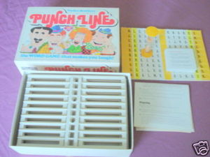 Punch Line Game 1978 Parker Brothers No. 106 Complete