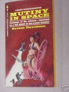 Pyramid X-2079 Mutiny In Space Avram Davidson 1969 PB