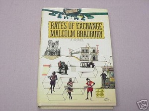 Rates of Exchange by Malcolm Bradbury 1983 HC