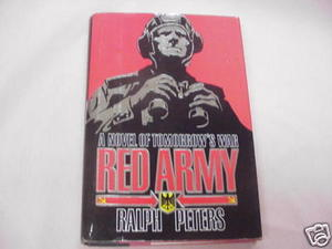 Red Army 1989 European War Fiction HC Ralph Peters