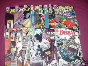 Robin Mini Series 1 thru 6, Cry of Huntress 1,2,3,5,6