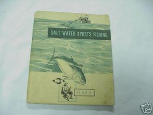 Salt Water Sports Fishing by Mortimer Norton 1950 PB