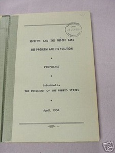 Security and the Middle East Problem & Solution 1954