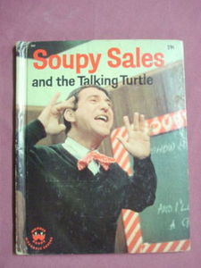 Soupy Sales And The Talking Turtle 1965 Wonder Book HC
