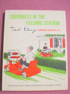 Squirrels in the Feeding Station 1967 HC Cartoons