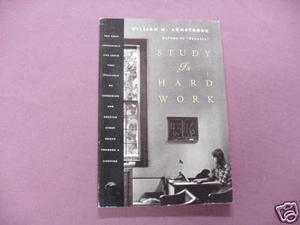 Study Is Hard Work William H. Armstrong 1995 Paperback