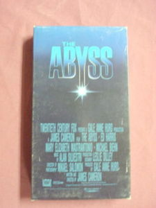 The Abyss VHS Ed Harris Mary Elizabeth Mastrantonio