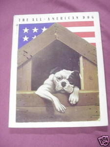 The All-American Dog Man's Best Friend In Folk Art 1977