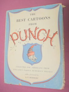 The Best Cartoons From Punch 1952 HC