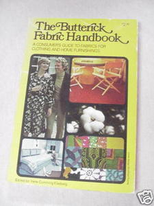 The Butterick Fabric Handbook 1975 Irene Kleeberg