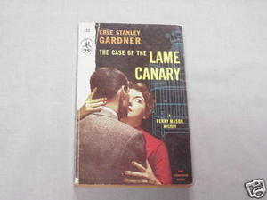 The Case of the Lame Canary 1954 PB Erle Stanley Gardner