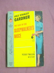 The Case of the Sleepwalker's Niece 1953 PB Perry Mason