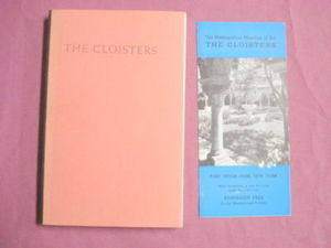 The Cloisters James J. Rorimer 1941 SC Book & Brochure