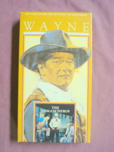 The Comancheros VHS John Wayne Lee Marvin