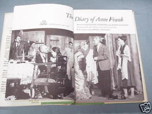 The Diary of Anne Frank Random House Play Edition 1956