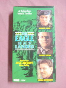 The Eagle Has Landed VHS 1976 Michael Caine WWII