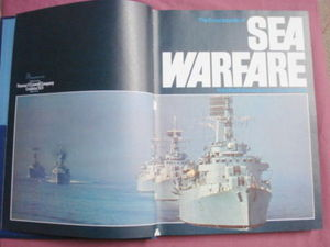 The Encyclopedia of Sea Warfare HC 1975 Lain Parsons