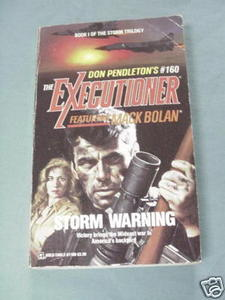 The Executioner #160 Storm Warning 1992 Don Pendleton