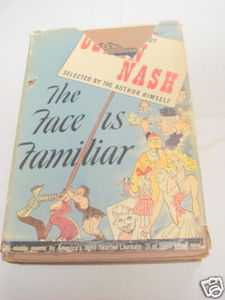 The Face Is Familiar 1941 Poetry HC Ogden Nash