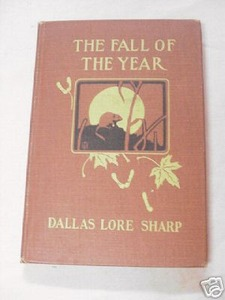 The Fall of the Year by Dallas Lore Sharp 1911 HC
