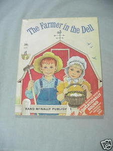 The Farmer In The Dell Start Right Elf Book #8578 1967