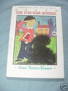 The Five-Star General by Joan Potter Elwart 1965 HC