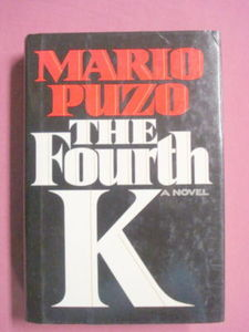 The Fourth K HC Mario Puzo 1990 First Edition