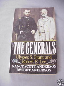 The Generals Grant and Lee Civil War Anderson 1989 SC