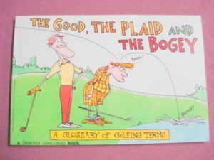 The Good, The Plaid and the Bogey 1992 Golf Humor SC