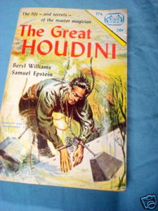The Great Houdini 1968 Paperback Beryl Williams