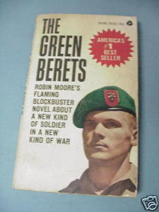 The Green Berets Robin Moore 1966 PB Vietnam War