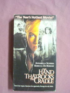 The Hand That Rocks The Cradle VHS Rebecca De Mornay