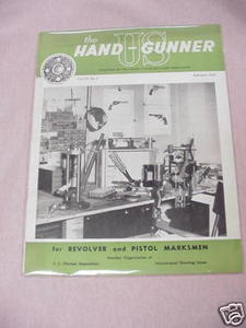 The Handgunner Magazine Feb. 1956, Vol. VI, No. 2