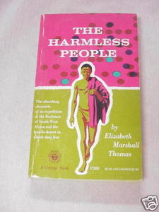 The Harmless People 1959 PB Elizabeth Marshall Thomas