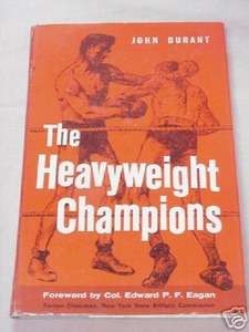 The Heavyweight Champions 1960 Boxing HC John Durant