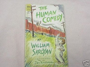 The Human Comedy by William Saroyan 1967 Paperback