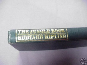 The Jungle Book Rudyard Kipling 1984 HC Illustrated