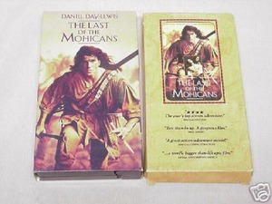 The Last of the Mohicans 1992 VHS & Cassette