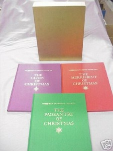 The Life Book Of Christmas 1963 3 Vol. Set + Slipcase