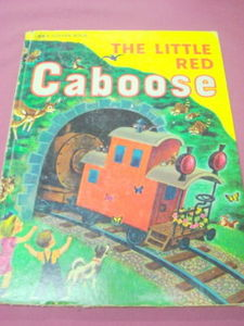 The Little Red Caboose 1980 HC Marian Potter