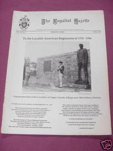 The Loyalist Gazette Vol. XIX, No. 2, Autumn, 1981