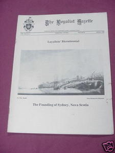 The Loyalist Gazette Vol. XXI, No. 2, Autumn, 1983
