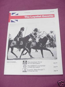 The Loyalist Gazette Vol. XXV, No. 2, November, 1987