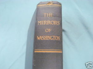 The Mirrors of Washington 1921 HC Anonymous