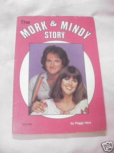 The Mork & Mindy Story By Peggy Herz 1979 PB