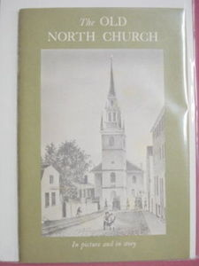 The Old North Church Boston David L. Clark 1960's Booklet
