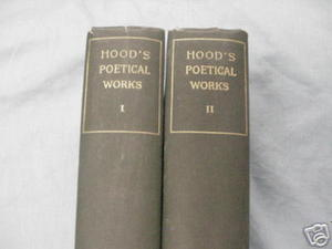 The Poetical Works of Thomas Hood 2 Vols c.1856
