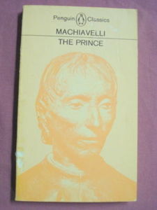 The Prince by Machiavelli Penguin Classic PB 1980